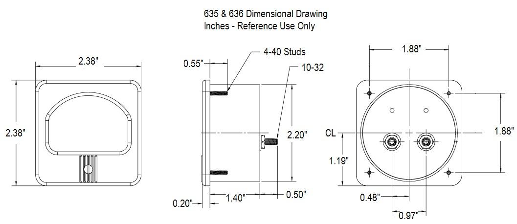 635_636 Dimensional Drawing