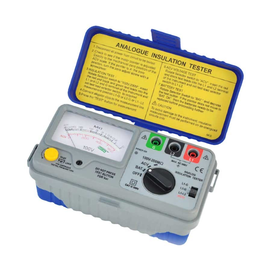 1100IN Series: For Telecoms Insulation Tester