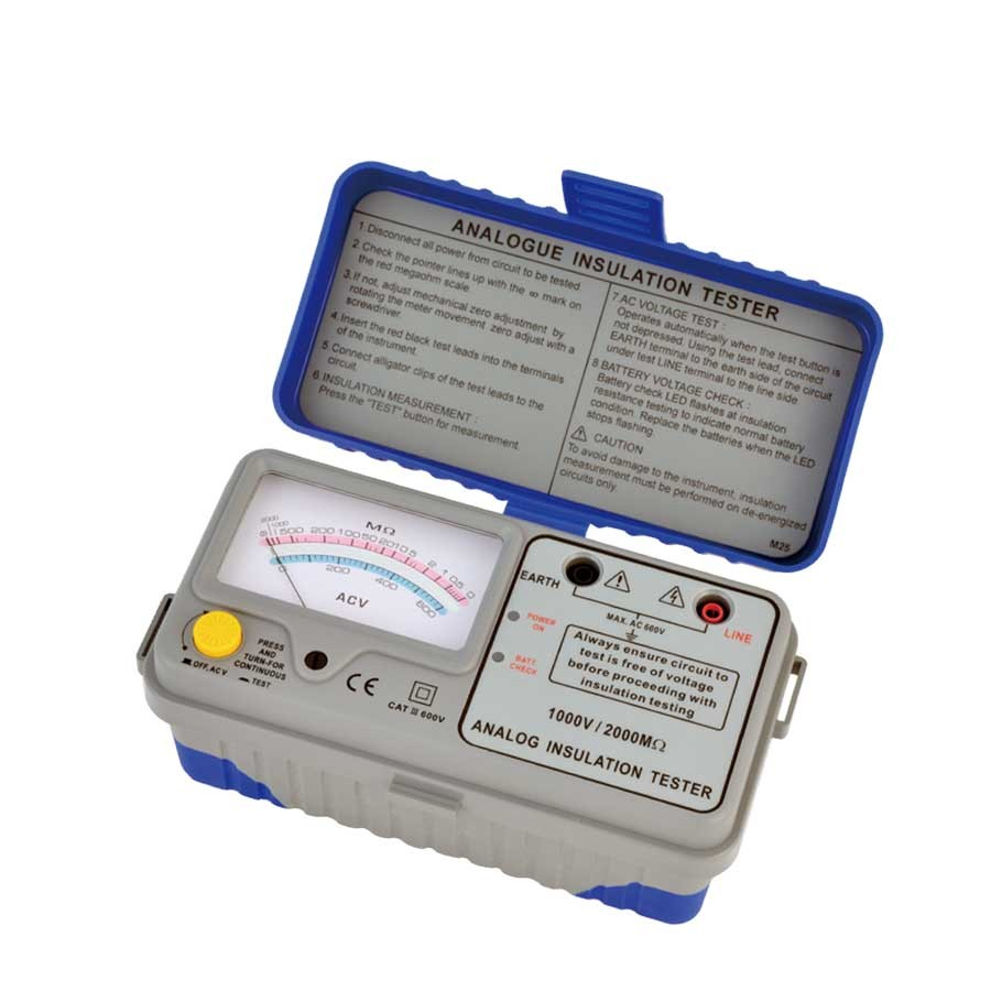 1126IN Analogue Insulation Tester