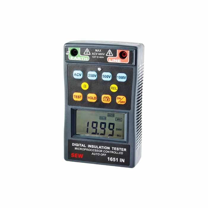 1651IN Digital (Up to 1kV) Insulation Tester