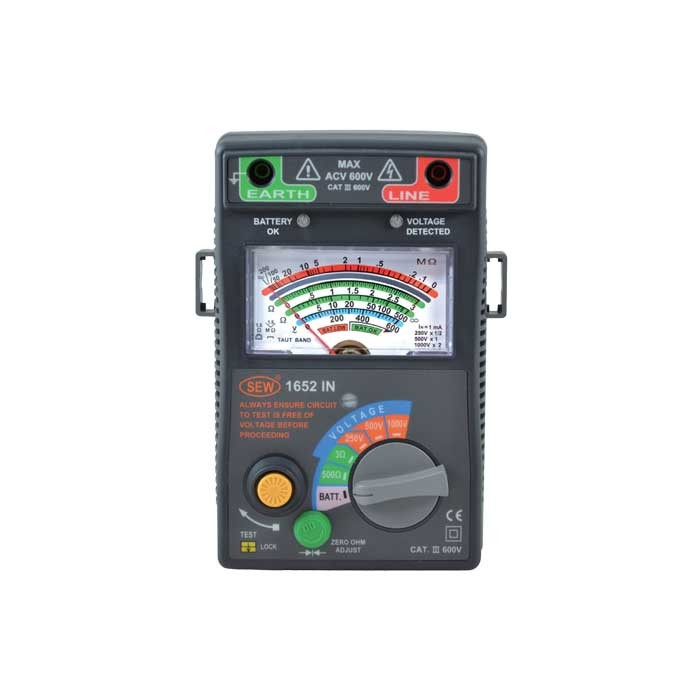 1652IN Analog Insulation Tester