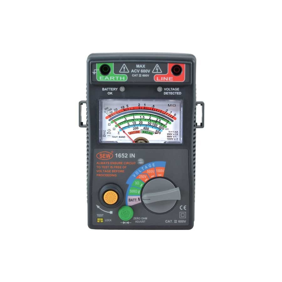 1652IN Digital Insulation Tester