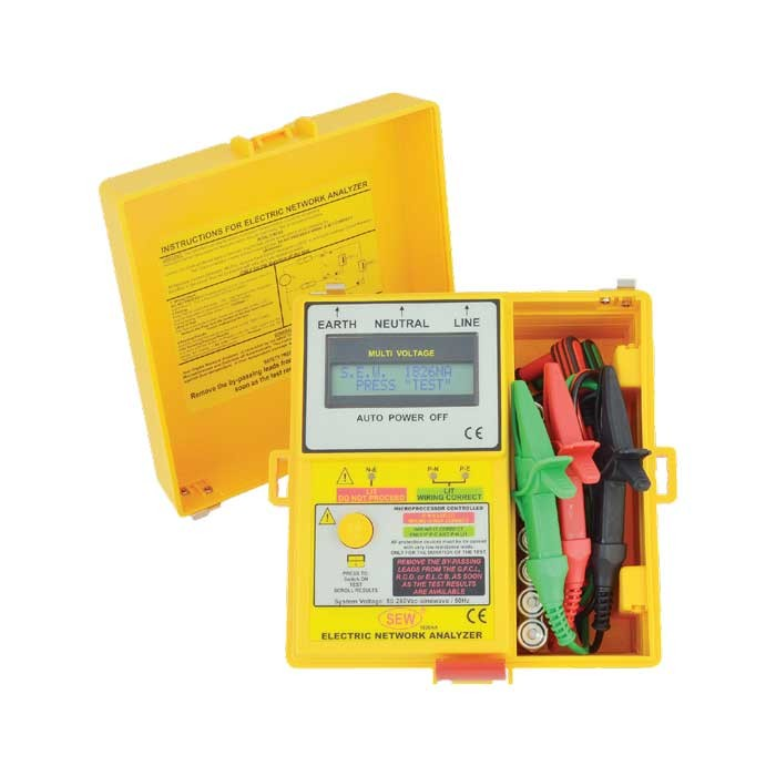 1826 NA Digital Electrical Network Analyzer