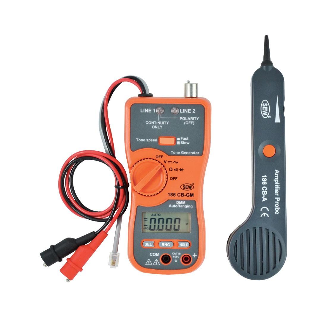 186CB Cable Tracer & Digital Multimeter