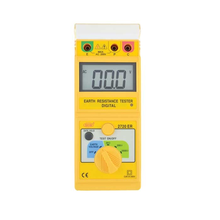2720 ER 3 Wire Digital Earth Resistance Tester