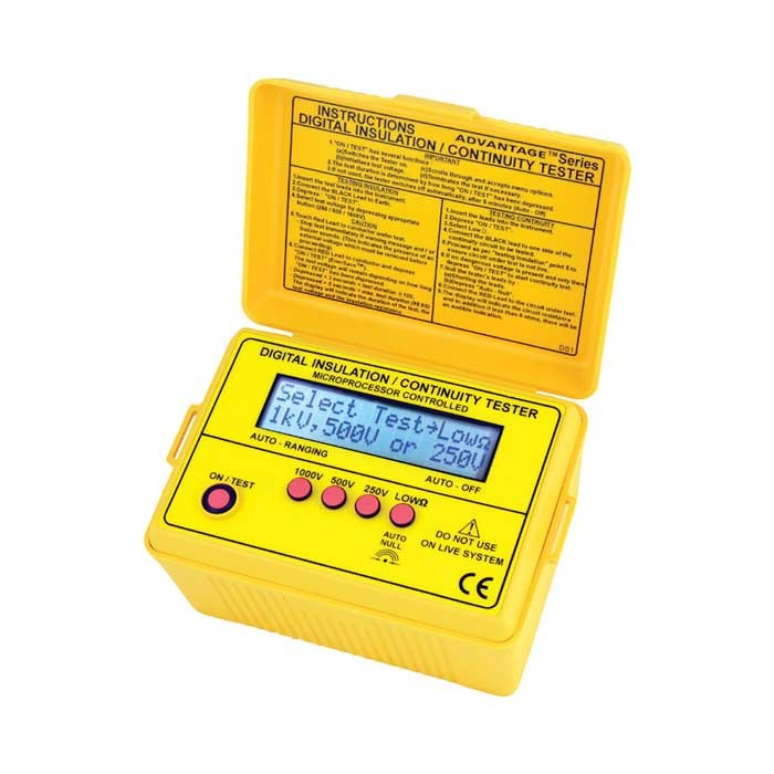2801IN Digital (Up to 1kV) Insulation Tester