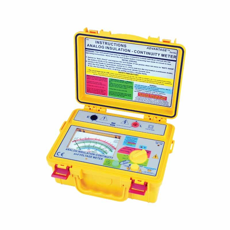 4132 IN Analog (Up to 1kV) Insulation Tester