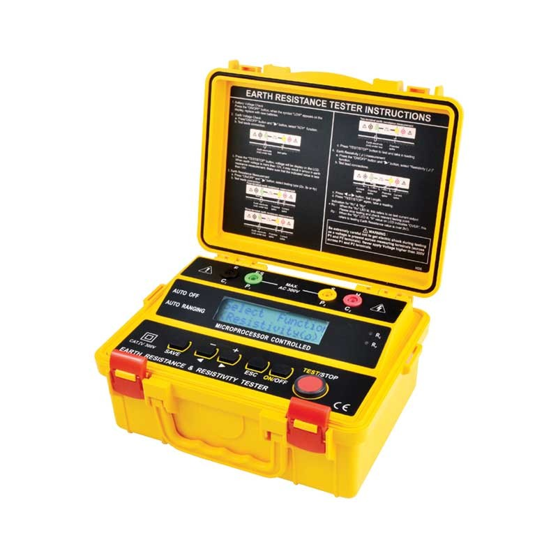 4235 ER 4-Wire Digital Earth Resistance and Resistivity Tester