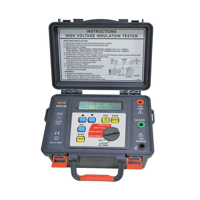 4310 IN Digital HV Insulation Tester