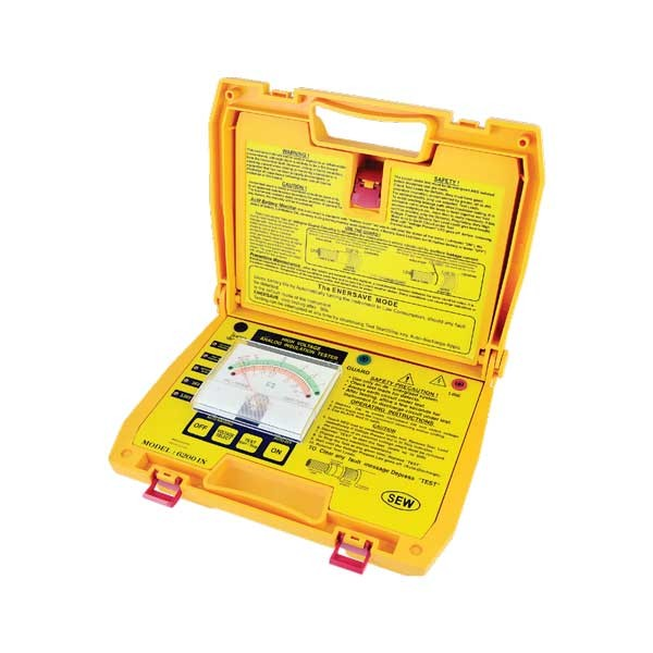 6200 IN Analogue Insulation Tester