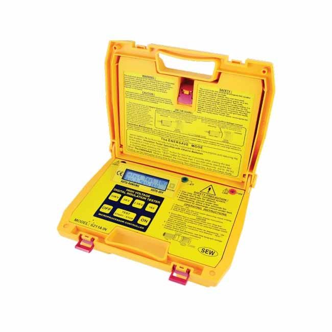 6211A IN Digital HV Insulation Tester