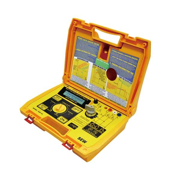 6221 EL 3 Phase Industrial Earth Leakage Tester / Presence & Rotation Indicator