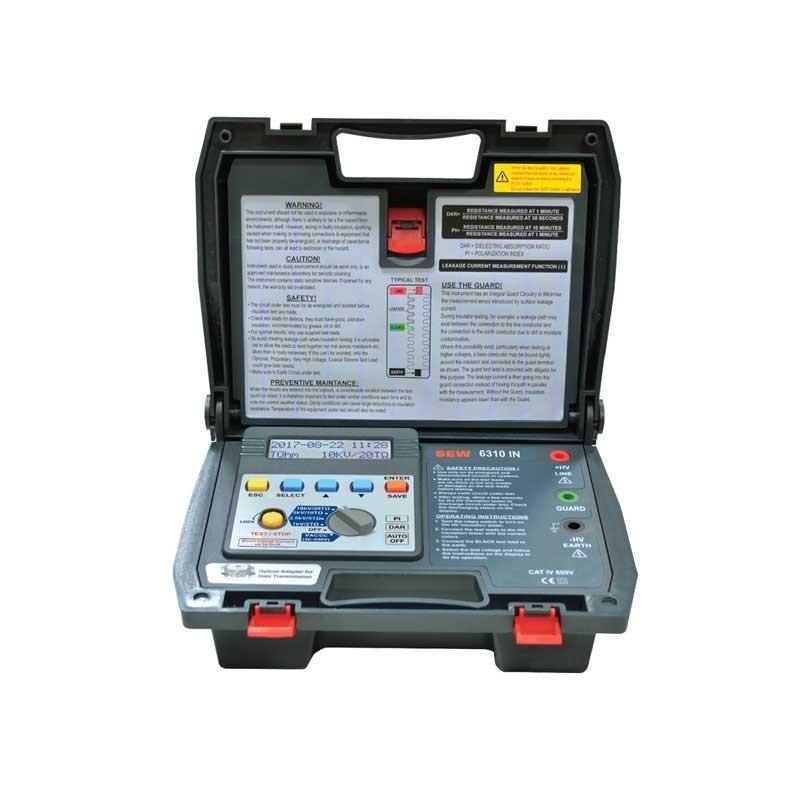 6310 IN Digital HV Insulation Tester