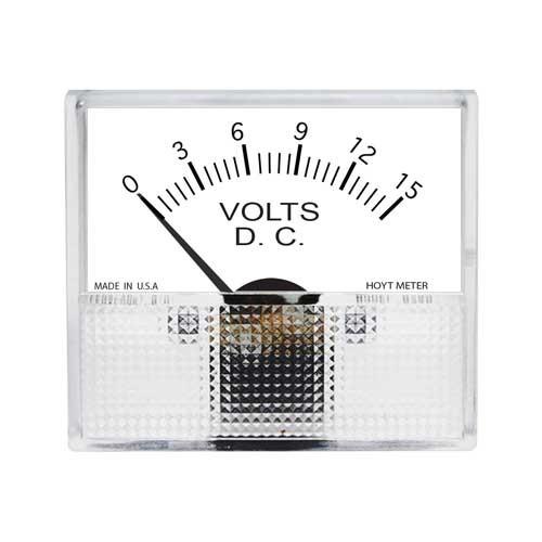 825 DC Analog Panel Meter