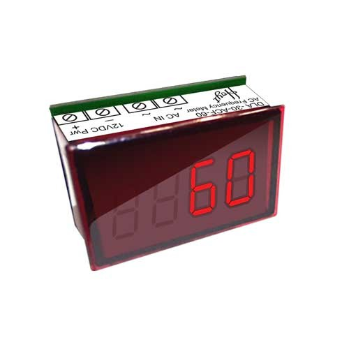 DLA-30-ACF-60 LED AC Frequency Meter - Front View