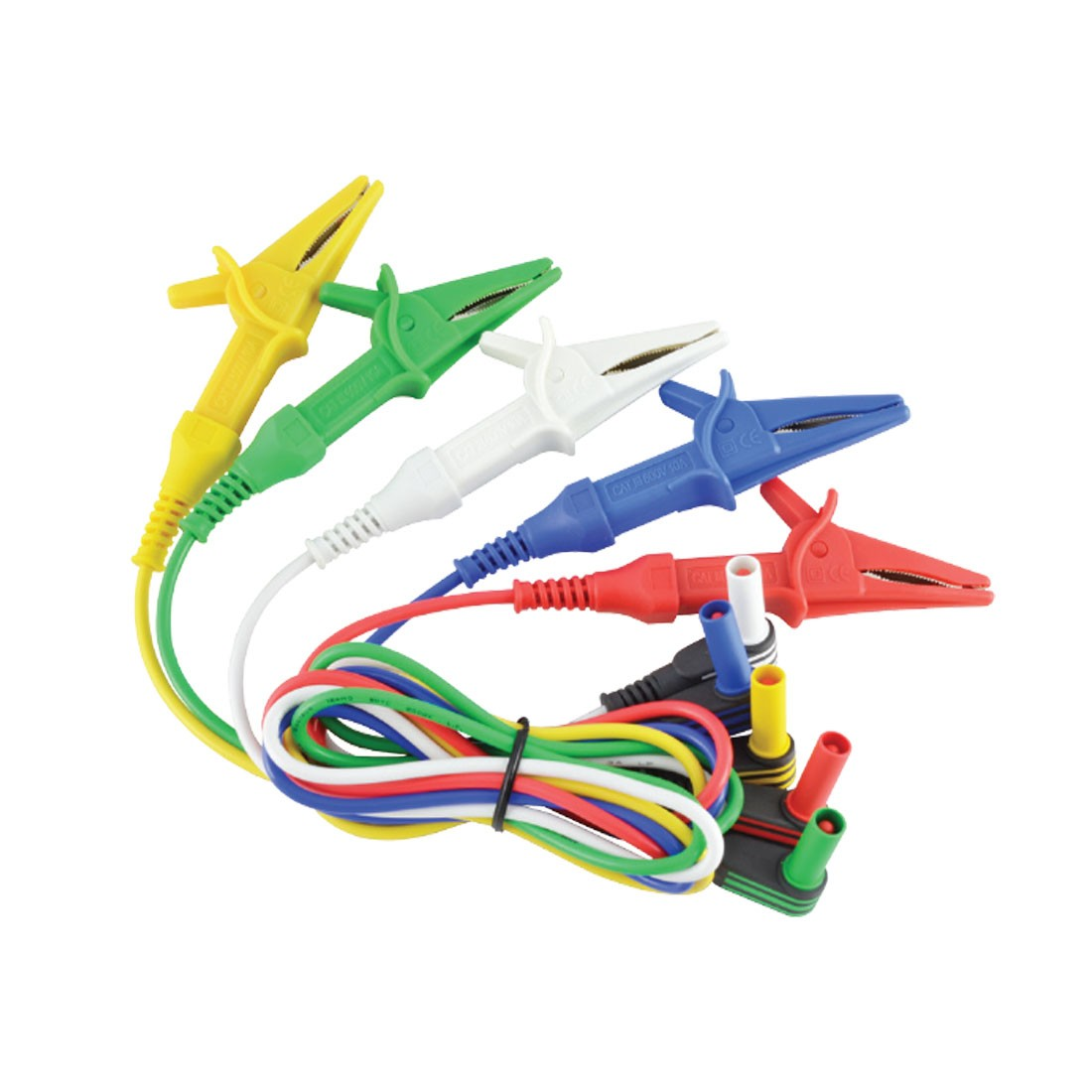 AL-34 Test Leads (Choose between five colors with Alligator Clips)