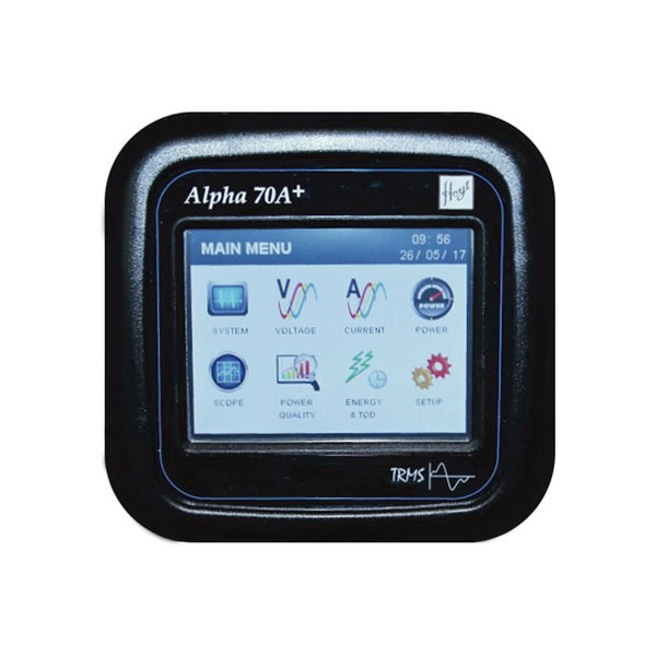 Alpha 70A+ ANSI Touch screen Multifunction Power Quality Monitor