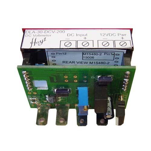 DLA-30-DCV-200 LED DC Voltmeter - Front View
