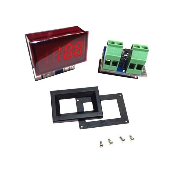DLA20-DCA LED DC Digital Panel Meter with on-board shunt