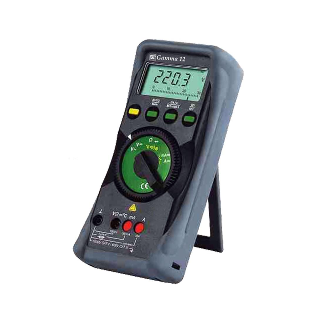 Gamma 12 Multimeter with Terminal Blocking for Maximum Safety