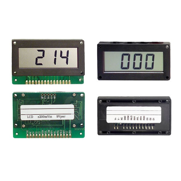 H5F/P Series LCD Digital Panel Meter