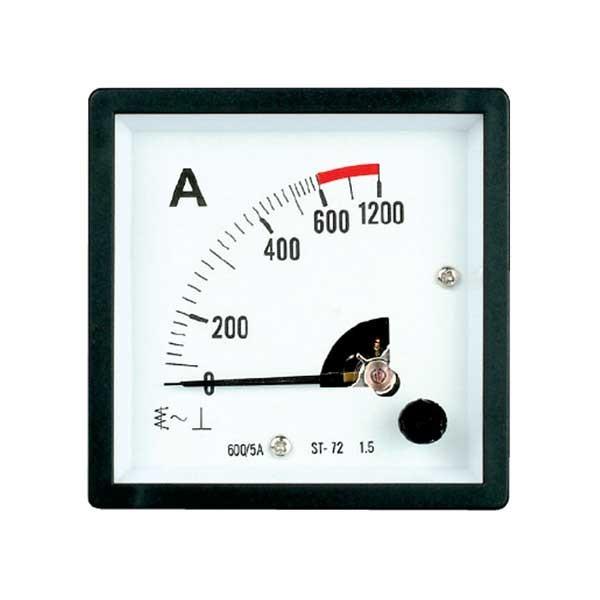 HST-72 AC/DC Analog Panel Meter