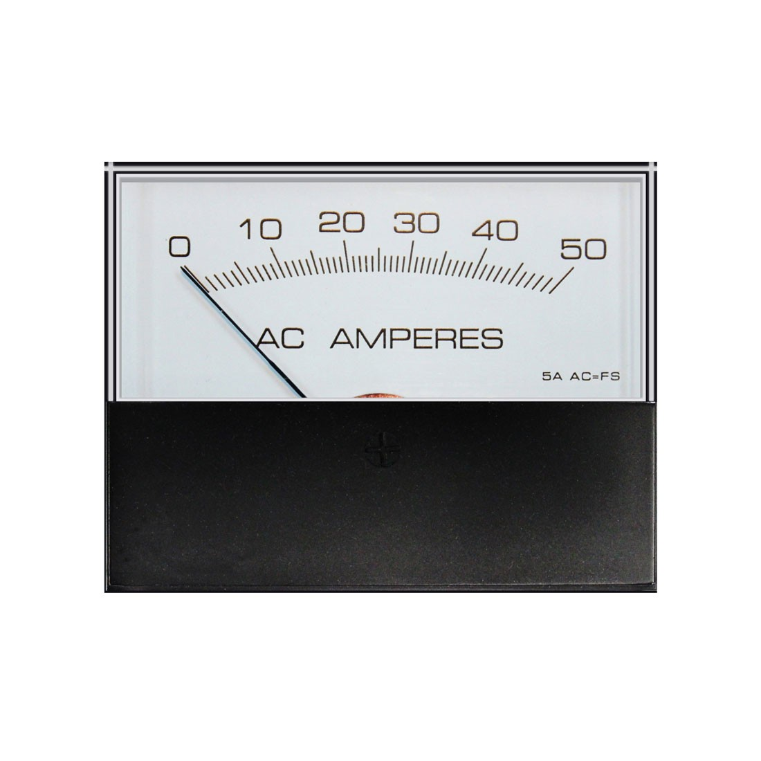 HST-75 AC Analog Panel Meter - Front View