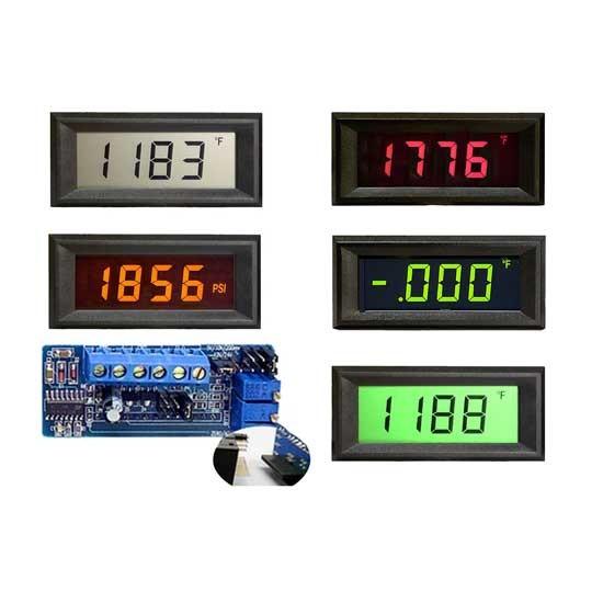 HVPI-3E Voltage Powered LCD Digital Panel Meter