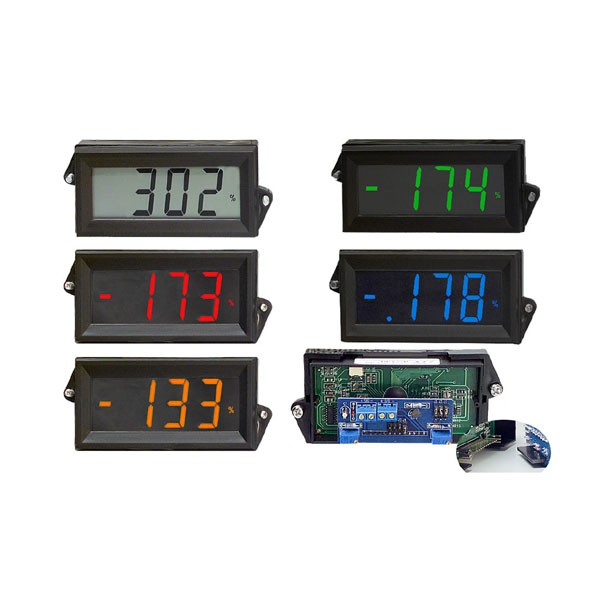 HLPI-800 Series LCD Digital Panel Meter Loop Powered