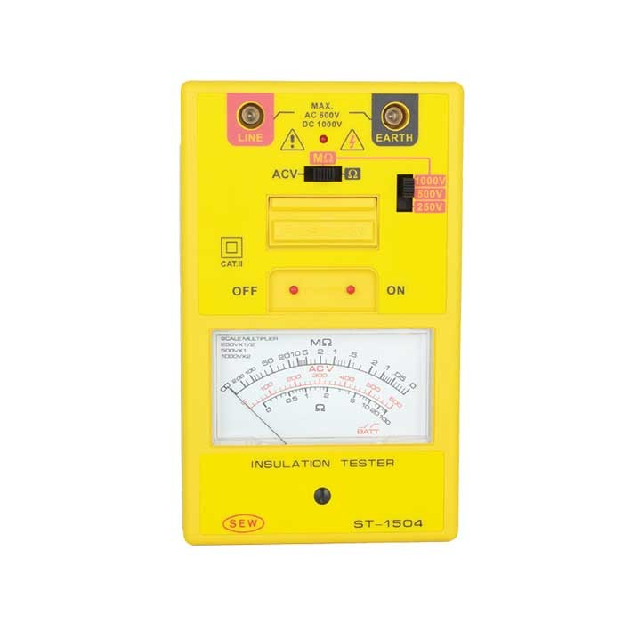 ST-1504 Analogue (Up to 1kV) Insulation Tester