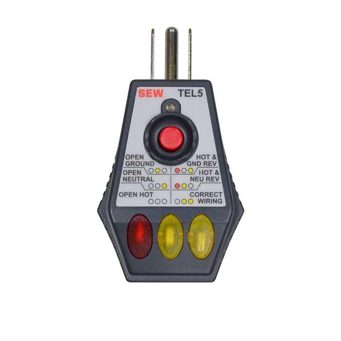 TEL5 GFCI Socket Tester