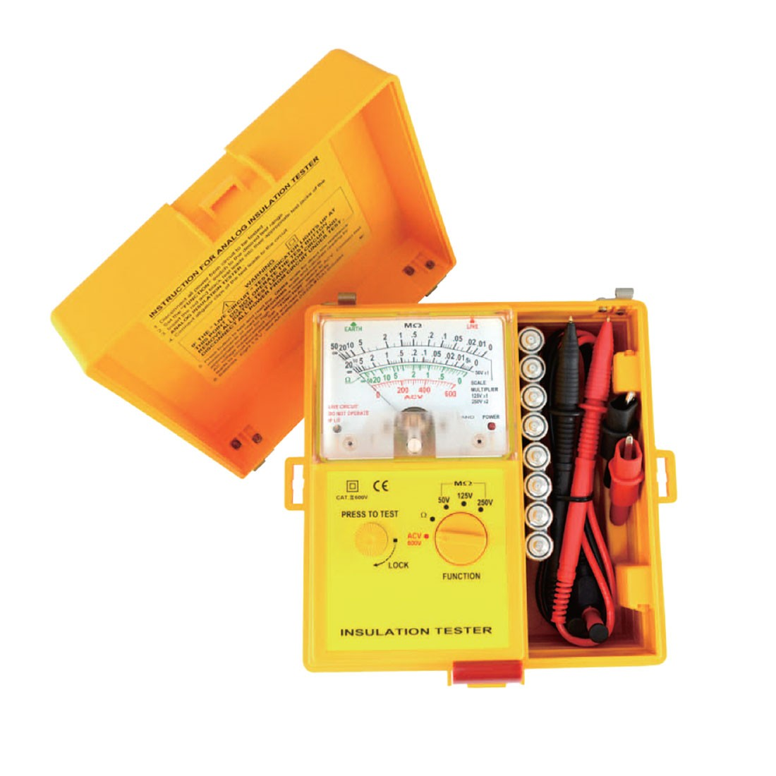 1801IN For Telecoms Insulation Tester