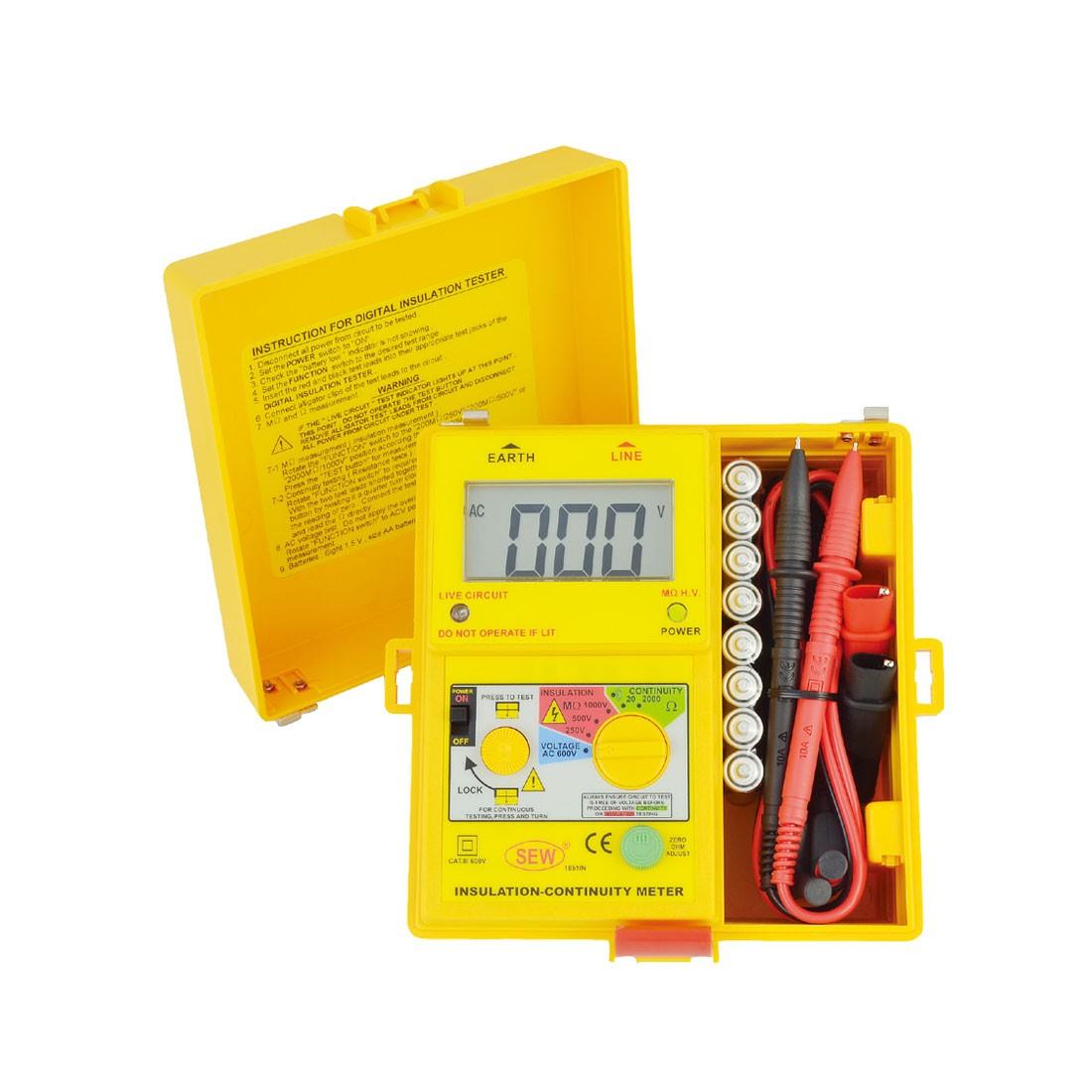 1851IN Digital (1kV below) Insulation Tester