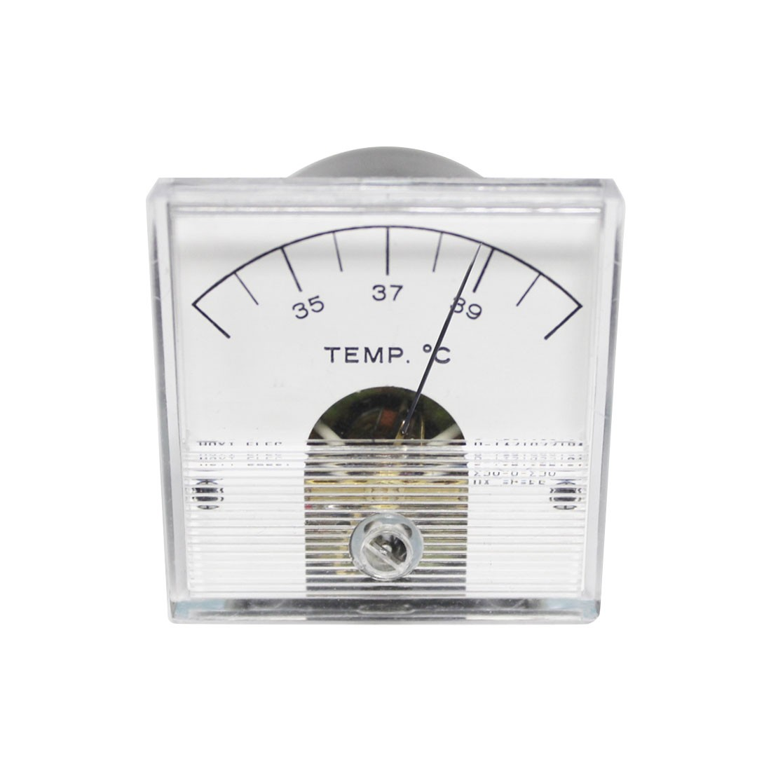 2018 DC Analog Panel Meter - Front View