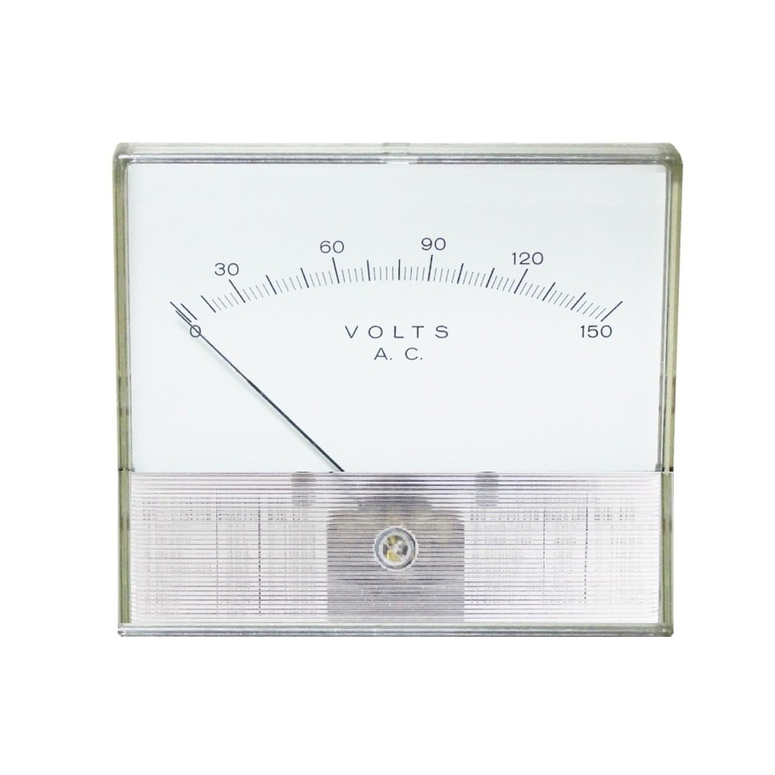 2046R Rectified AC Analog Panel Meters - Standart With Clear Band