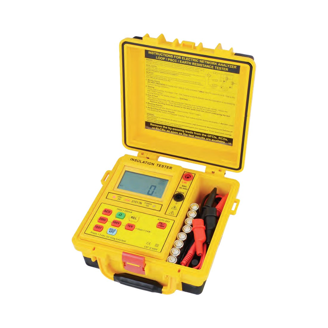 2151IN Digital (Up to 1kV) Insulation Tester