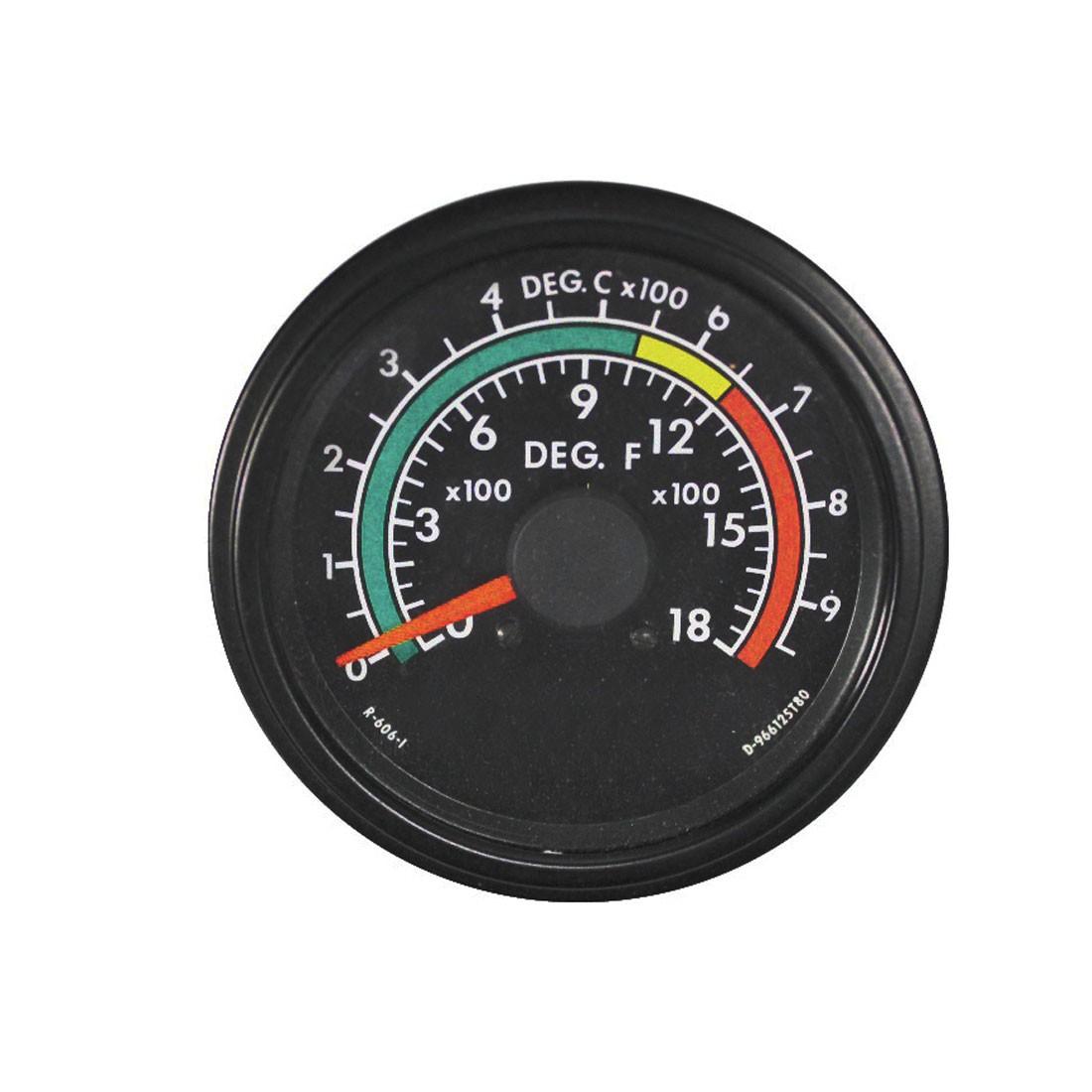 250-30 DC Analog Panel Meter - Front View