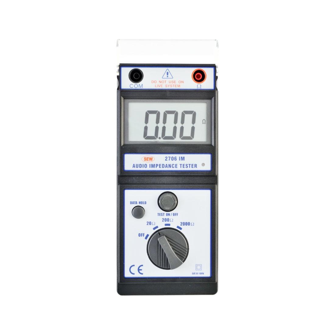 2706IM Audio Impedance Tester