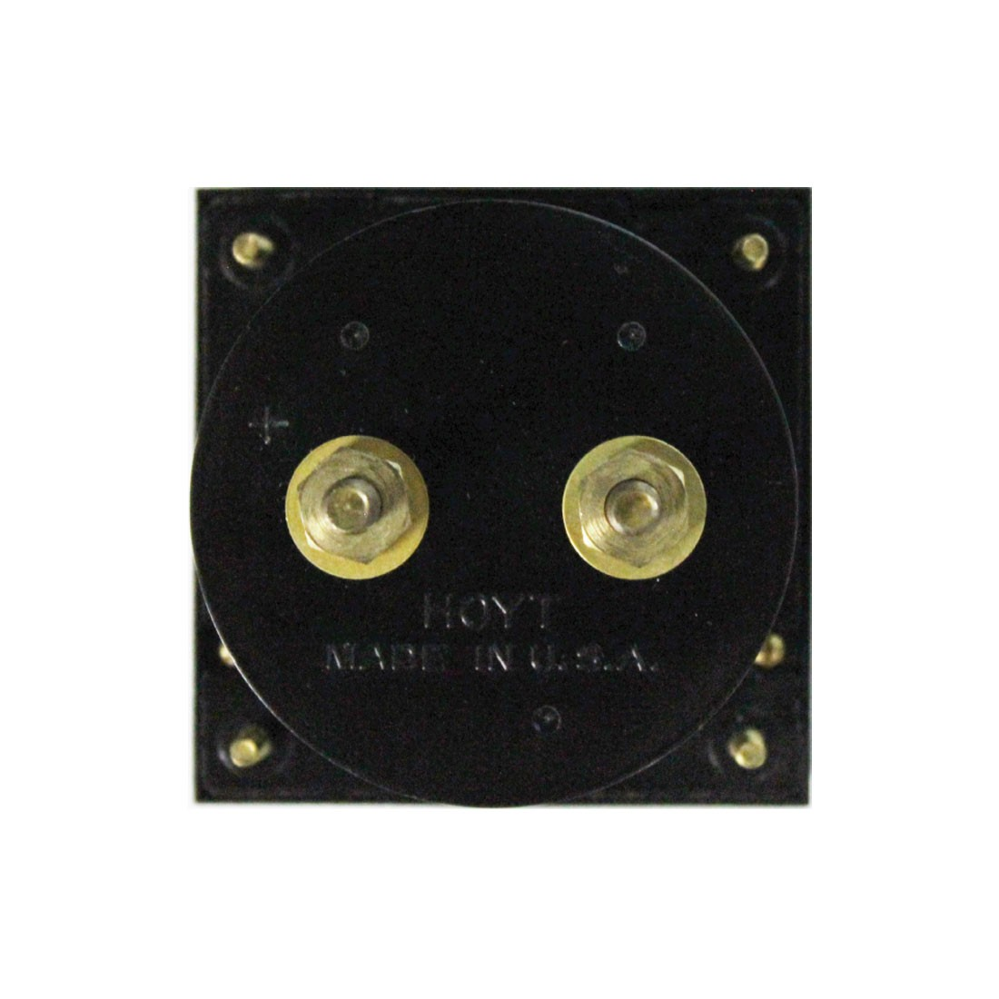 4035 DC Analog Panel Meter  - Front View