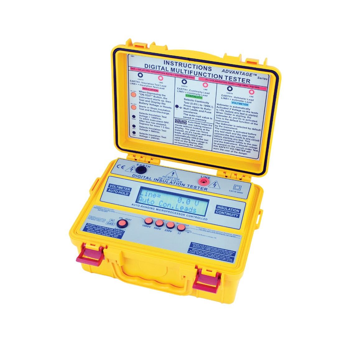 4101IN Insulation & Multi-function Tester(LCD)