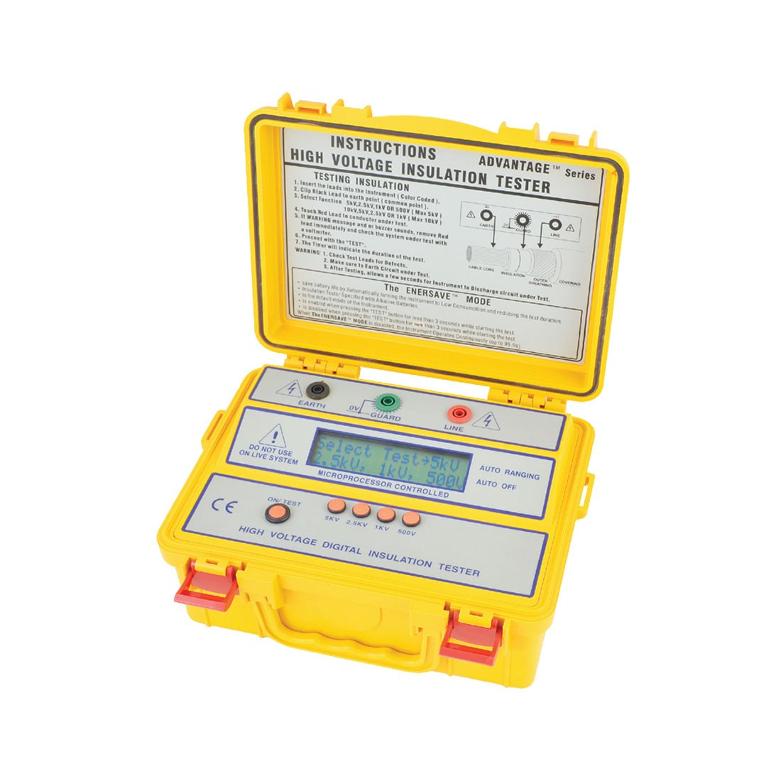 4103IN Digital (Up to 5kV) Insulation Tester