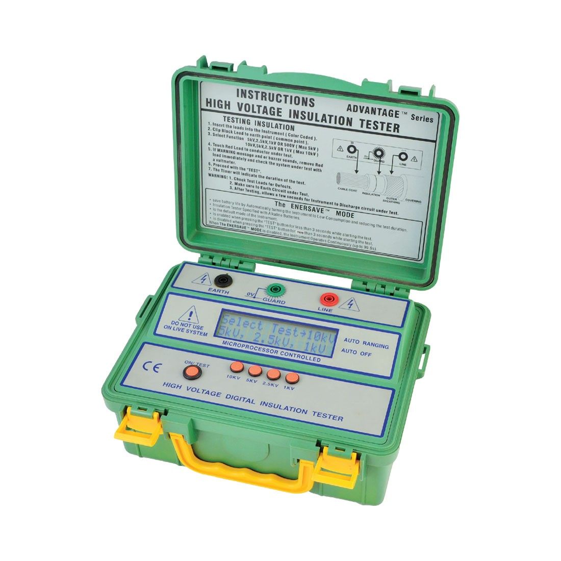 4104IN Digital (Up to 10kV) Insulation Tester