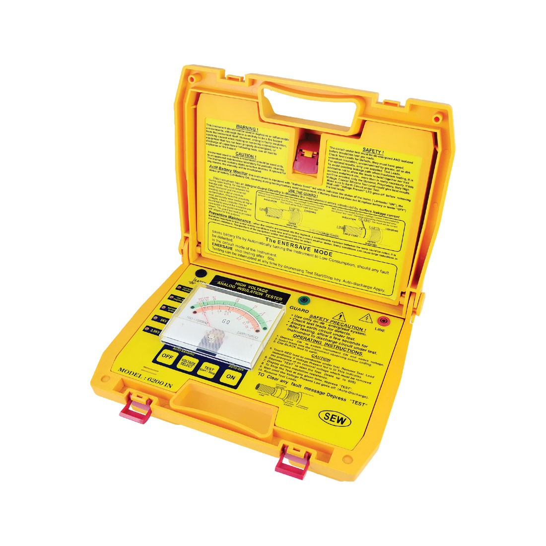 6200IN Analogue (Up to 5kV) Insulation Tester