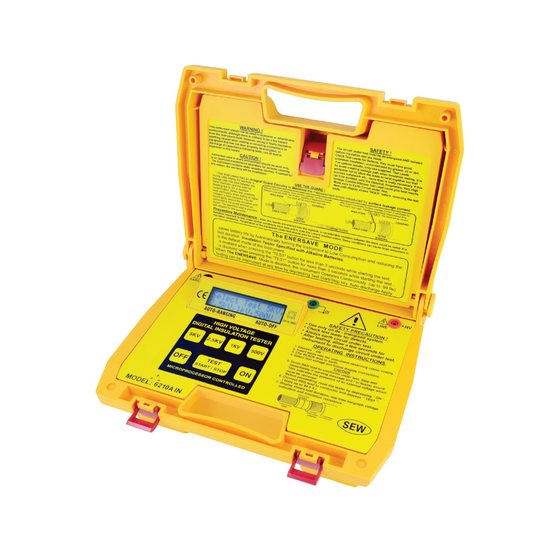 6210AIN Digital (Up to 5kV) Insulation Tester