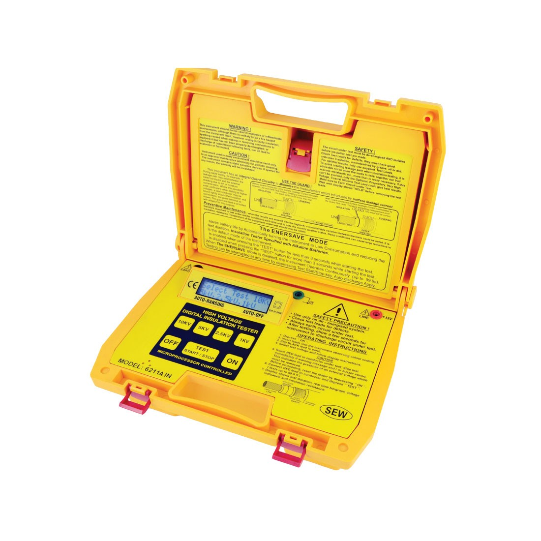 6211AIN Digital (Up to 10kV) Insulation Tester