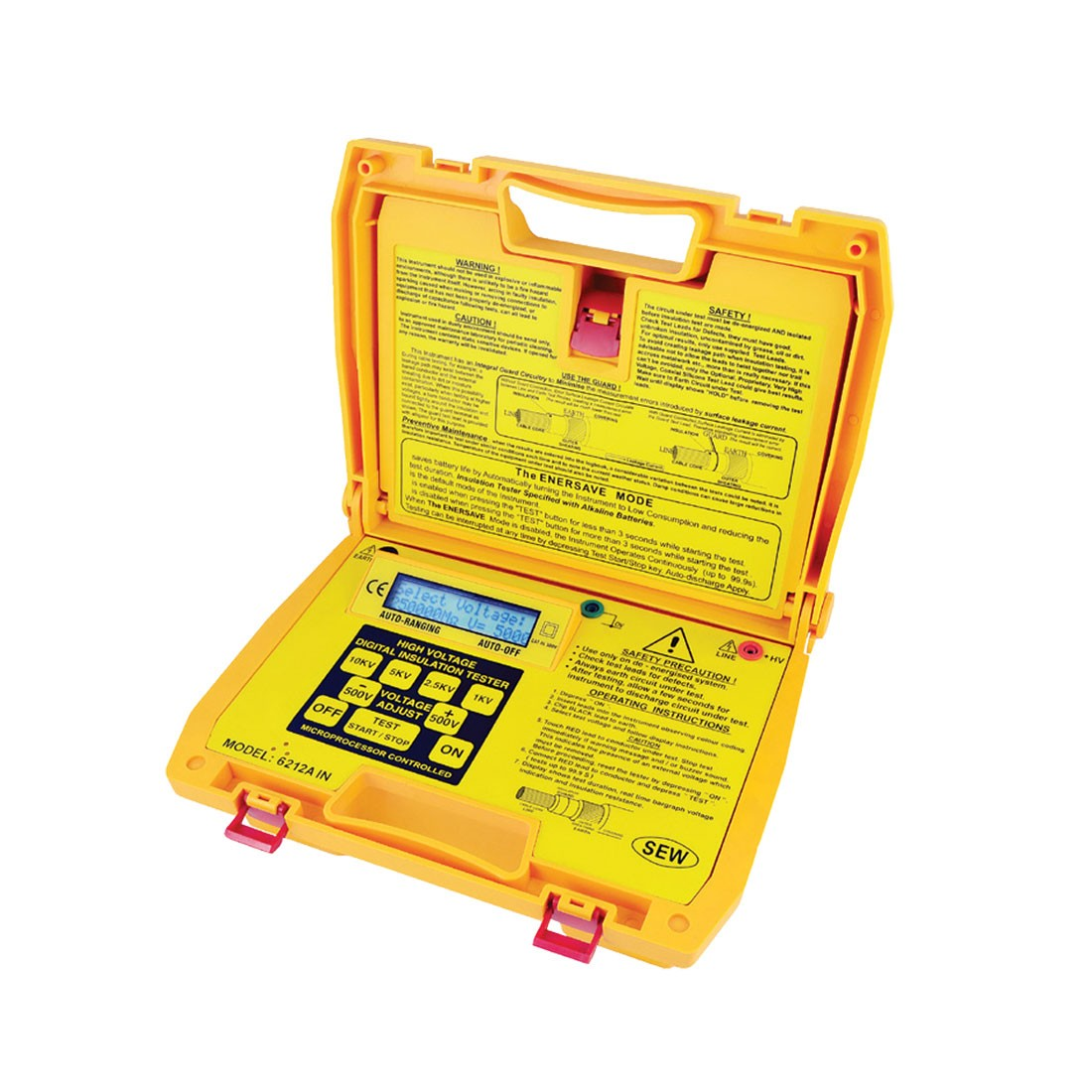6212AIN Digital (Up to 10kV) Insulation Tester