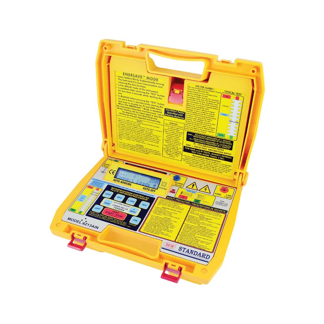 6213AIN Digital (Up to 10kV) Insulation Tester