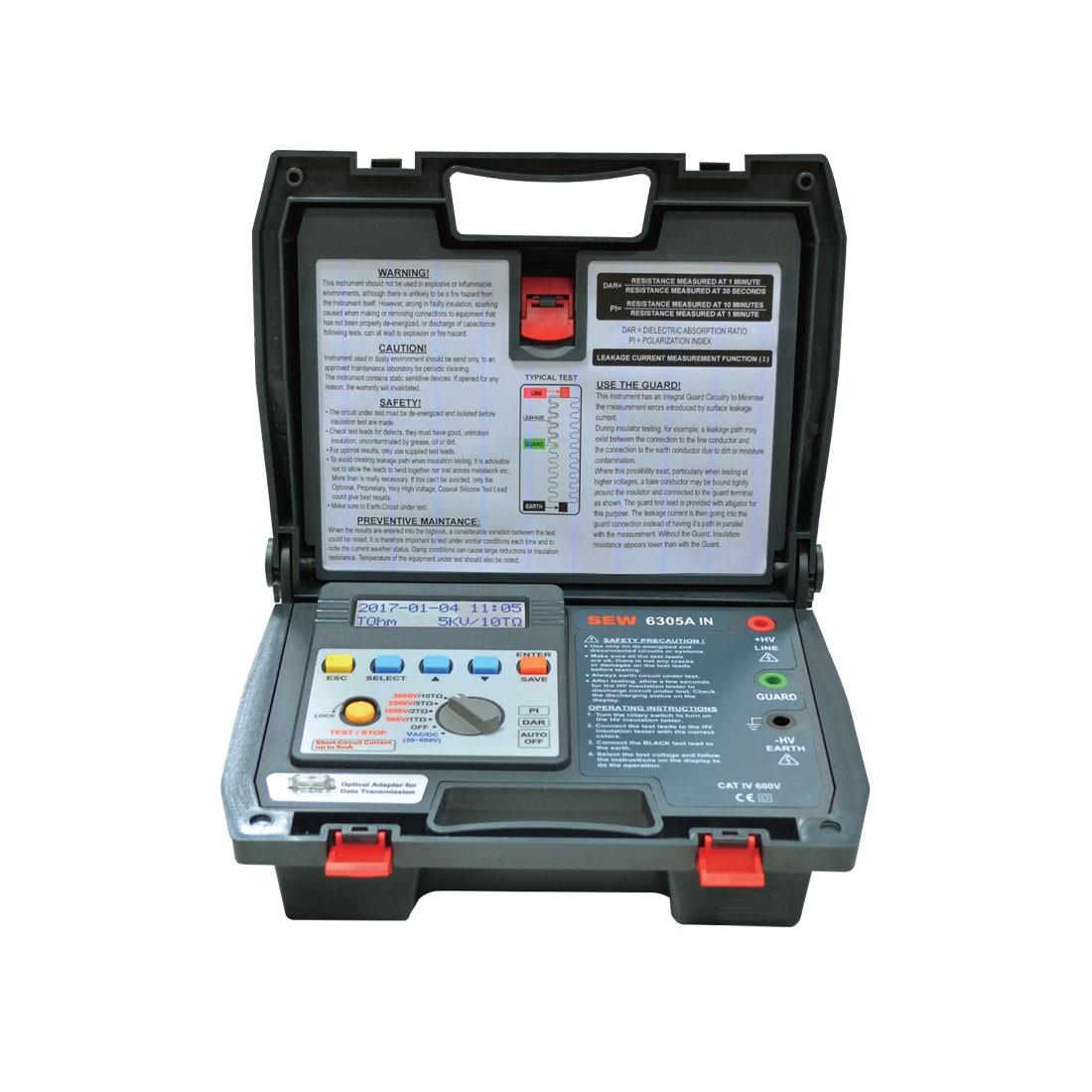 6305AIN Digital (5kV up) High Voltage Insulation Tester