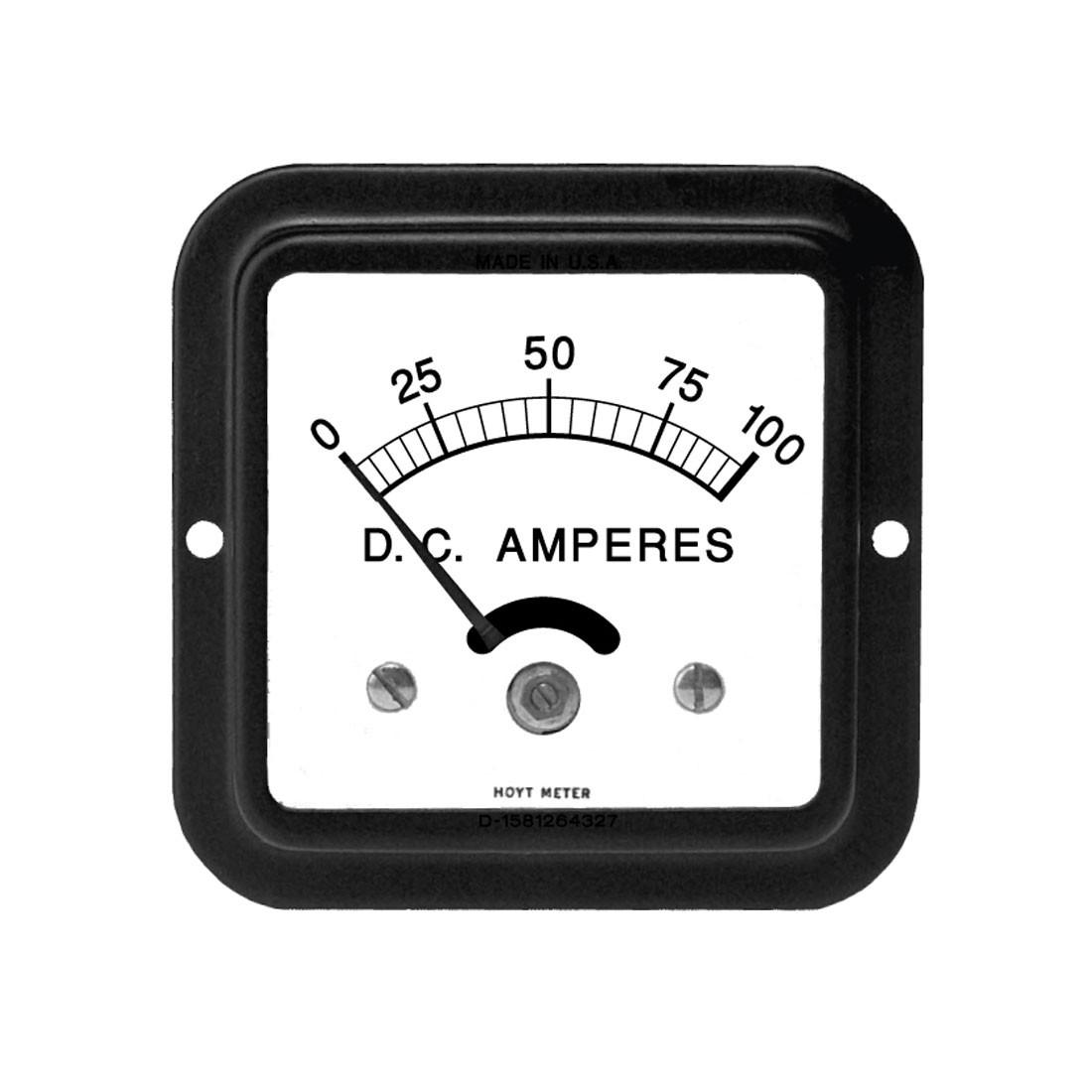 693 DC Analog Panel Meter