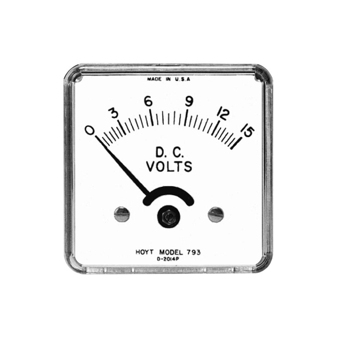 793M DC Analog Panel Meter